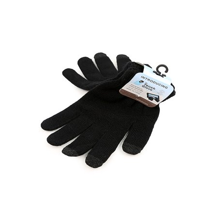 The Touch Glove   Unisex Touch Screen Winter Gloves For Smartphones And Tablets  Black