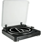 Best USB Turntables - Audio Technica AT-LP60BK-USB Fully Automatic Belt-Drive Stereo Turntable Review