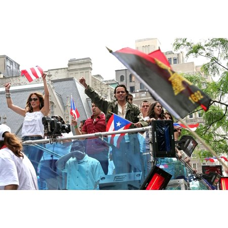 Jennifer Lopez Marc Anthony In Attendance For 50Th Anniversary National Puerto Rican Day Parade Manhattan New York Ny June 10 2007 Photo By Steve MackEverett Collection Celebrity