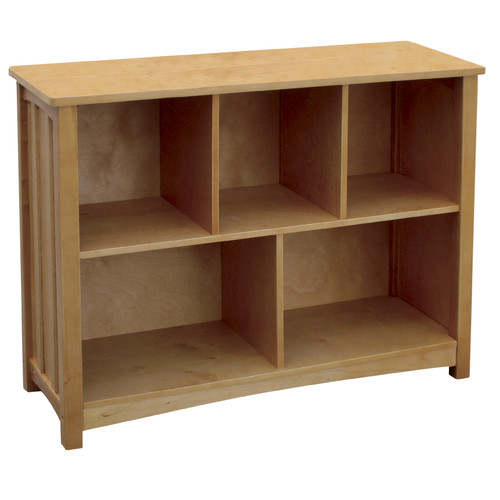 Guidecraft Mission Bookshelf, Natural