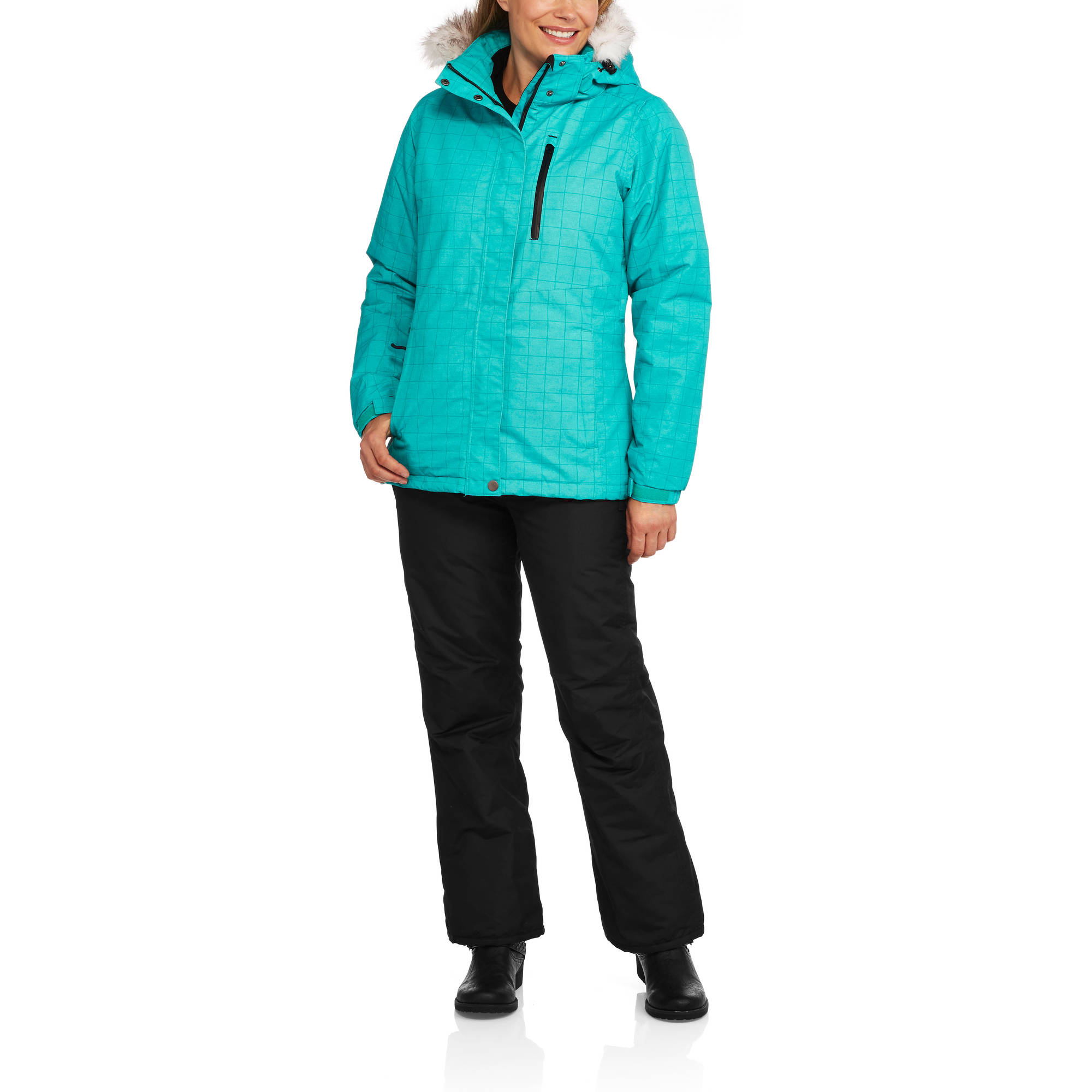 Iceburg Women's Insulated Snow Ski/Snowboarding Set — Complete With Ski Pants & Ski Jacket