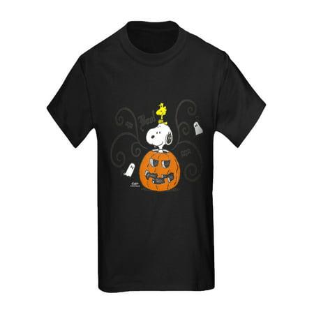Snoopy Great Pumpkin (CafePress - Peanuts Snoopy Sketch Pumpkin - Kids Dark)