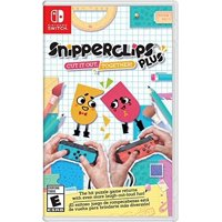 Snipperclips Plus: Cut it out, Together!, Nintendo Switch, Preowned/Refurbished