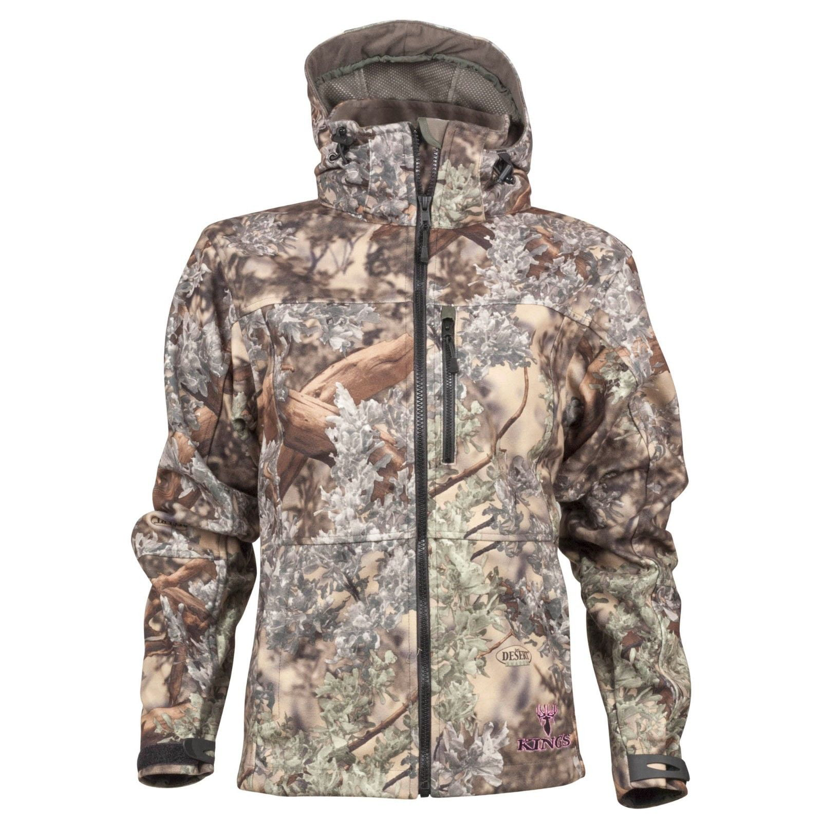 King's Camo Women's Wind Defender Fleece Jacket Desert Shadow by