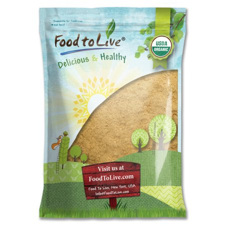 Food To Live orgánico certificado raíz de maca en polvo (no-GMO Crudo Planta Raíz de Maca harina a granel) (8 libras)