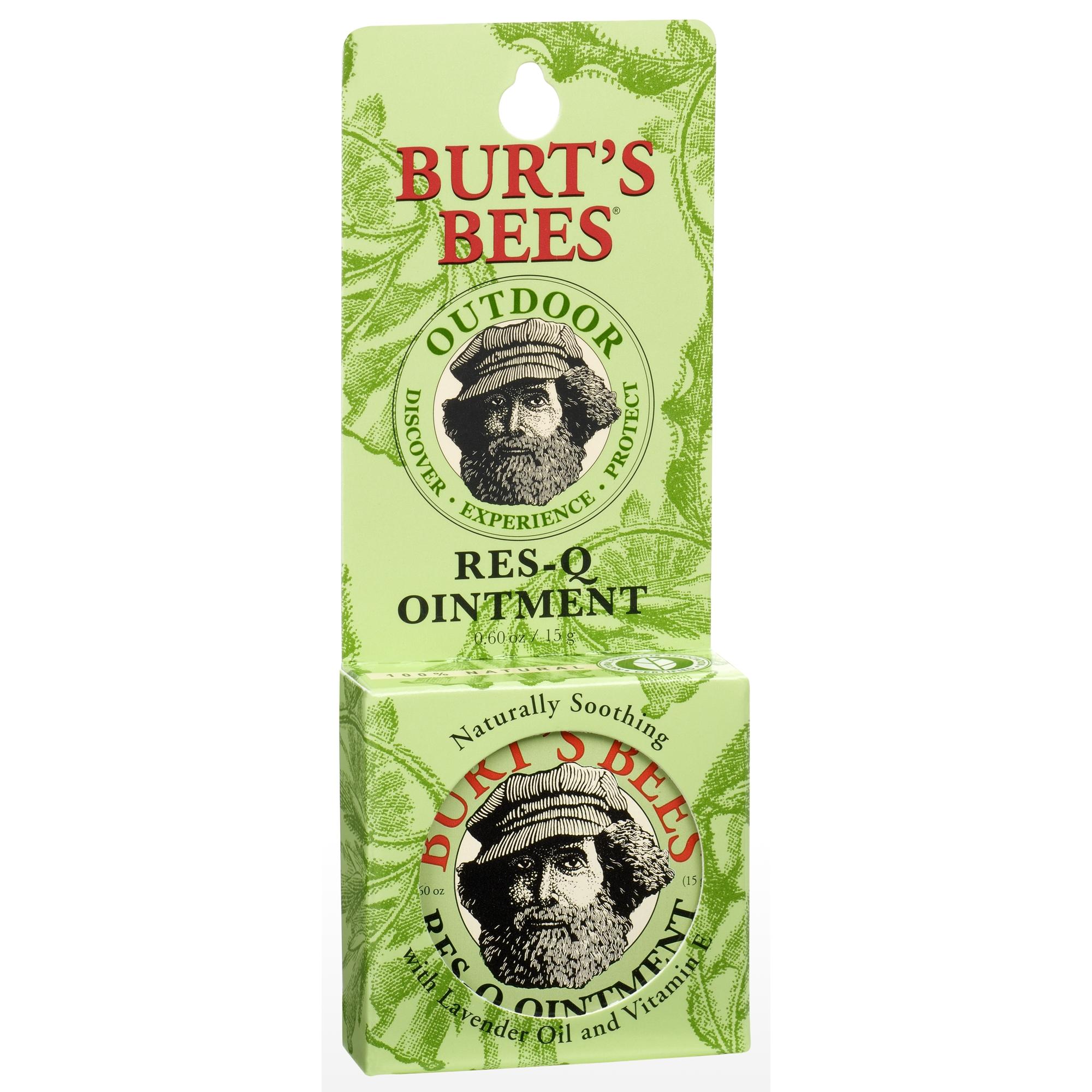 Burt's Bees 100% Natural Res-Q Ointment, Multipurpose Balm - 0.6 oz Tin