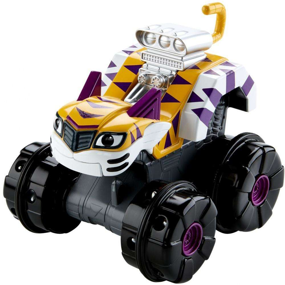 nickelodeon blaze and the monster machines super tiger claws stripes