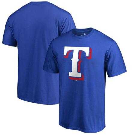 Texas Rangers Big & Tall Primary Team Logo T-Shirt - - Ny Rangers Logo