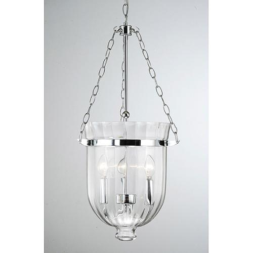The Lighting Store Chrome Finish Ribbed Glass Lantern Chandelier Walmart Com Walmart Com