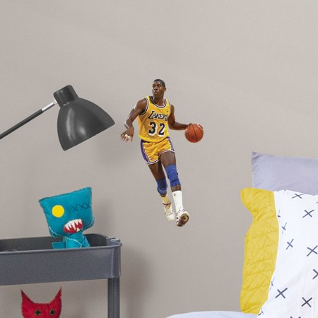 Fathead Magic Johnson - Large Officially Licensed NBA Removable Wall -
