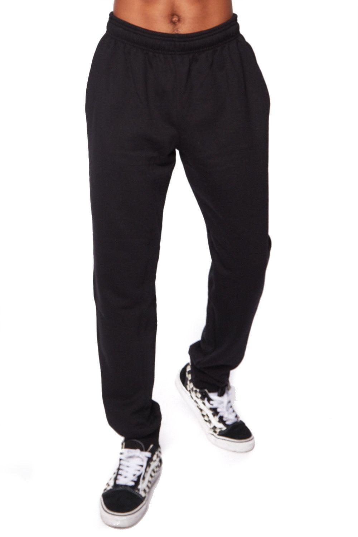 Mens Athletic Wear Jogger Pants Waistband Sweatpants Champio1 2-M-Black(Champ-2)