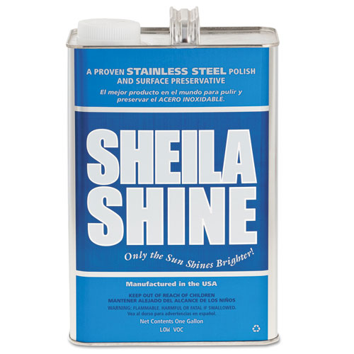 Sheila Shine Stainless Steel Cleaner & Polish, 1 gal Can,...