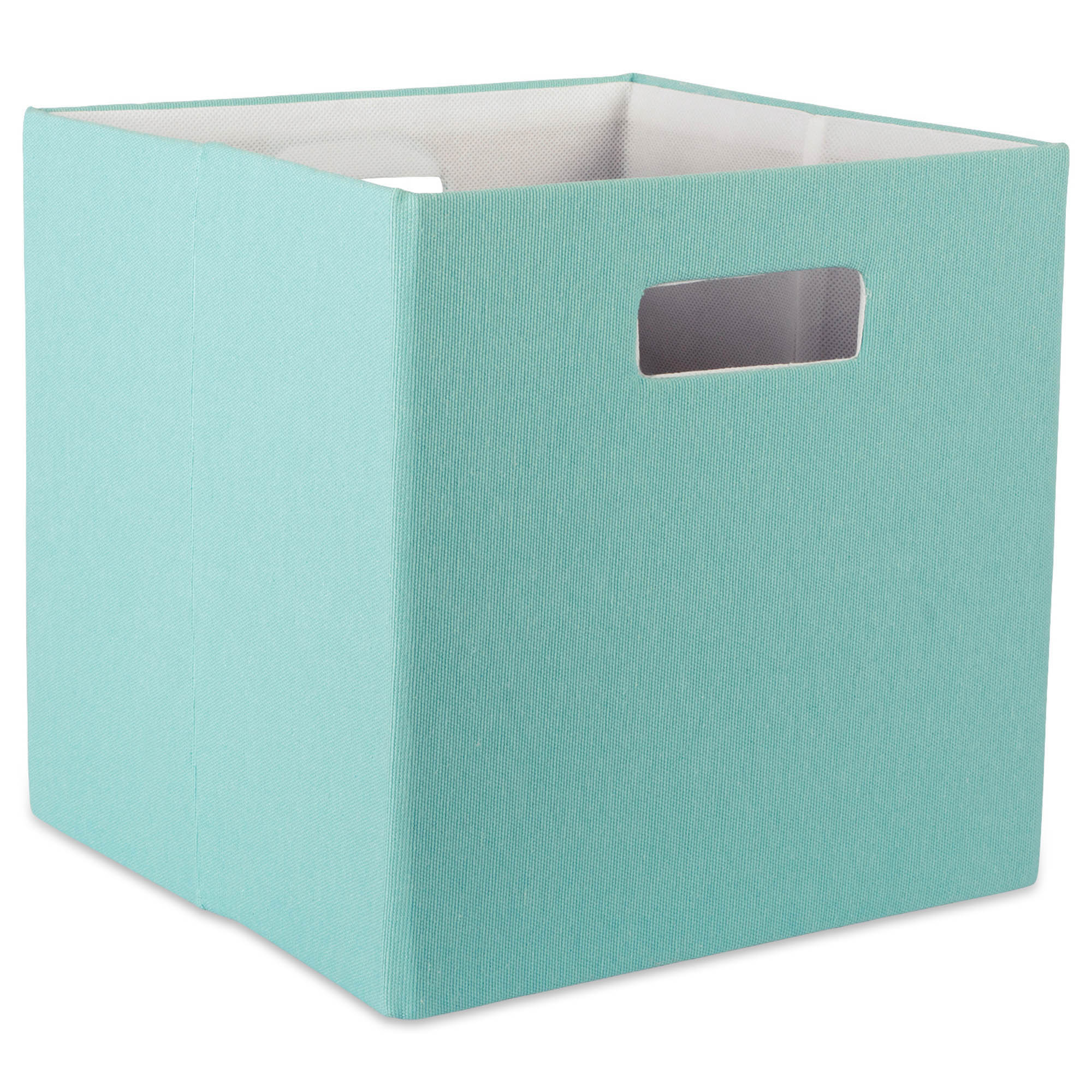 Charmant DII Hard Sided Collapsible Fabric Storage Container For Nursery, Offices, U0026  Home Organization, Containers Are Made To Fit Standard Cube Organizers ...