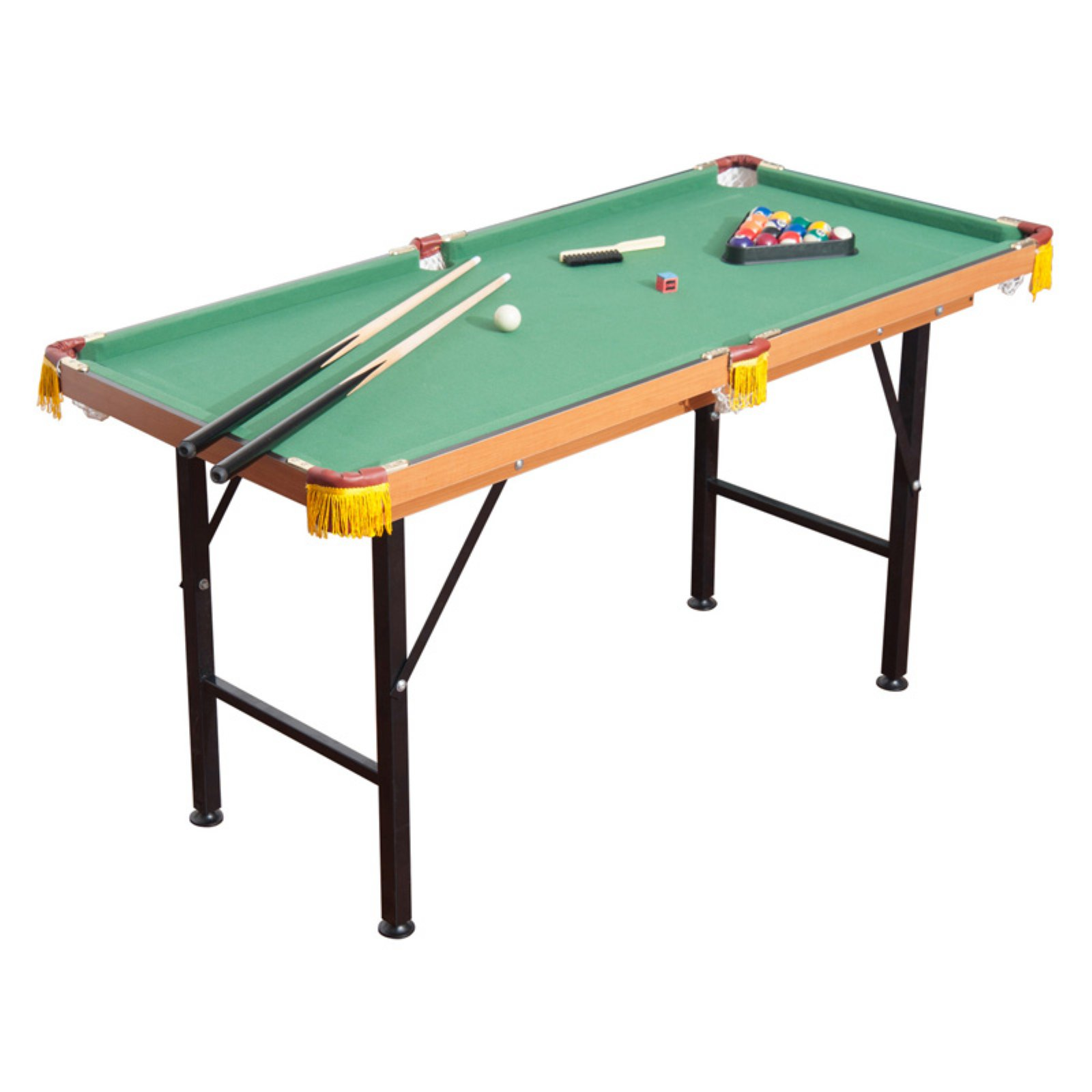 HomCom Folding Miniature Billiards Pool Table