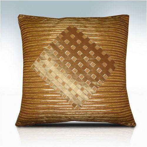 Melrose Home Stripes & Diamonds Pillow Shell