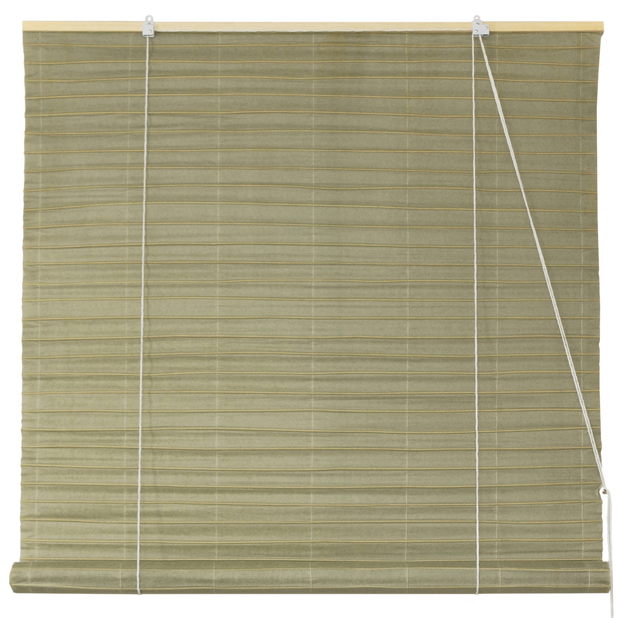Shoji Paper Roll Up Blinds, Olive