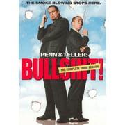 Penn & Teller: Bullsh#t 3rd Season (DVD)