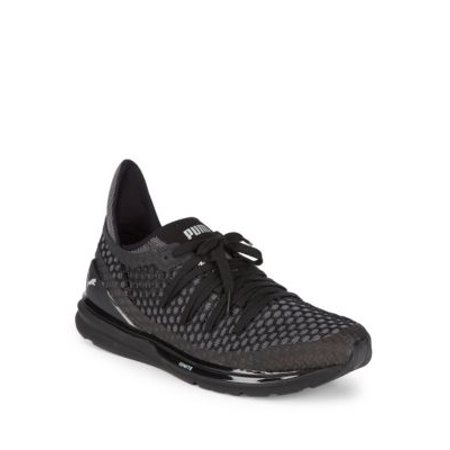 san francisco 00eea 86571 Puma Men's Ignite Limitless Netfit Black/White Sneakers