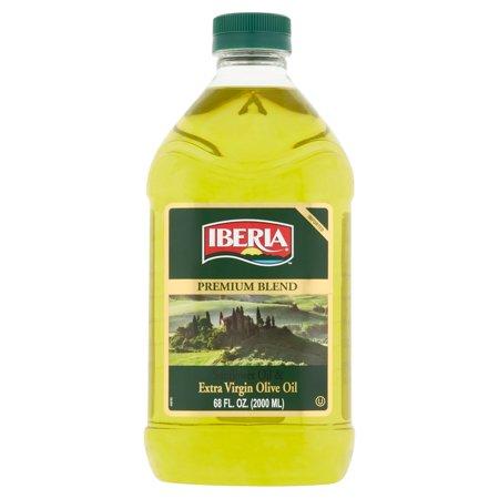 Iberia Premium Blend Sunflower Oil   Extra Virgin Olive Oil  68 Fl Oz