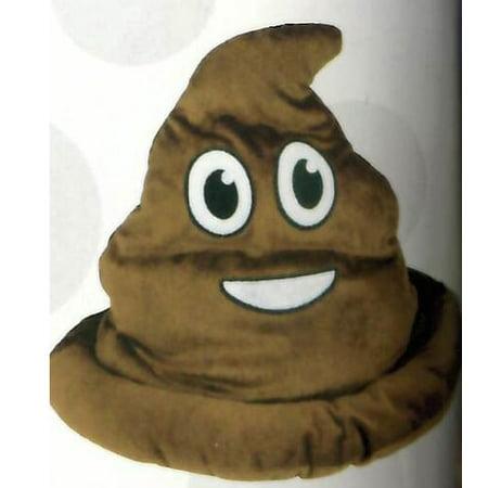Fake Emoji Poop Hat - Fake Poo