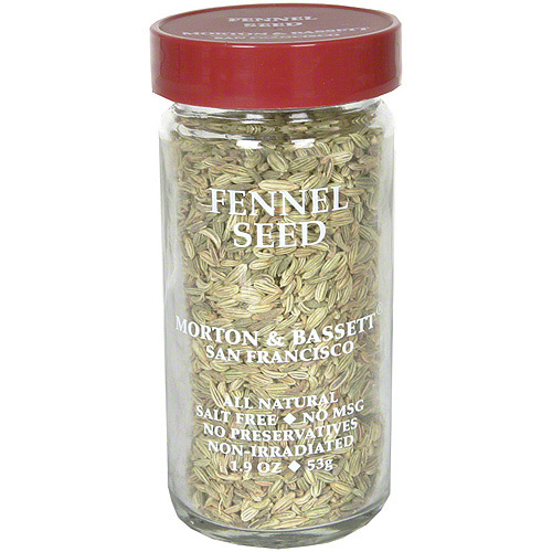 Morton & Bassett Spices Fennel Seed, 1.9 oz (Pack of 3)