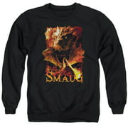 Hobbit Smolder Mens Crewneck Sweatshirt