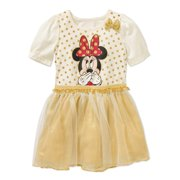 Minnie Mouse Toddler Girl Tutu Dress with 3D bow