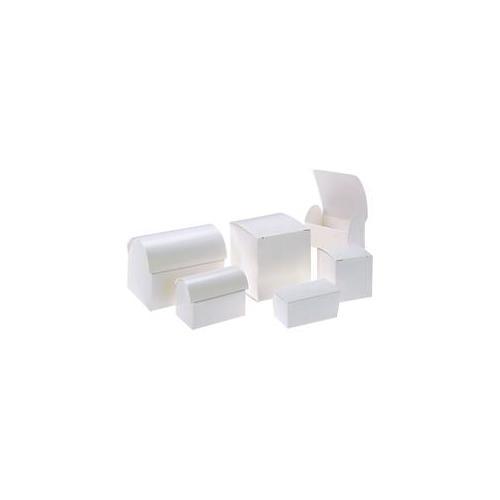Weddingstar 1969 White Favor Boxes- Standard Truffle Box