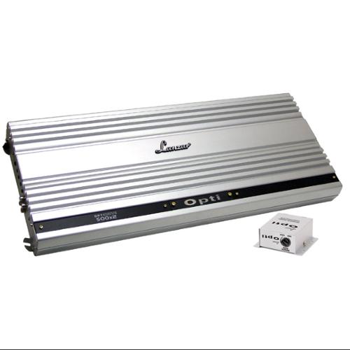 Lanzar Optidrive Opti500x2 Car Amplifier - 1 Kw Rms - 2 Kw Pmpo - 2 Channel Yes - 100 Db Snr - 0% Thd - 10 Hz To 35 Khz