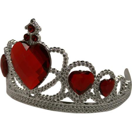 Queen Of Hearts Tiara - Plastic Tiaras Bulk