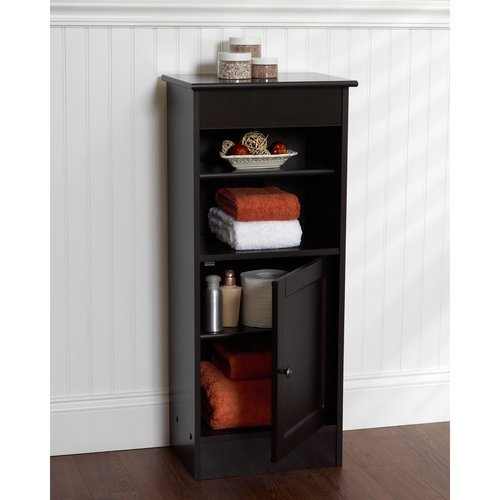 Zenith Bathroom Cabinets: Zenith Products Linen Floor Stand, Espresso