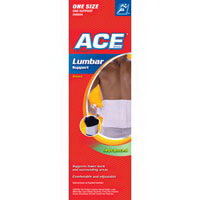 Ace Lumbar Ankle And Knee Support, One Size - 1 Ea