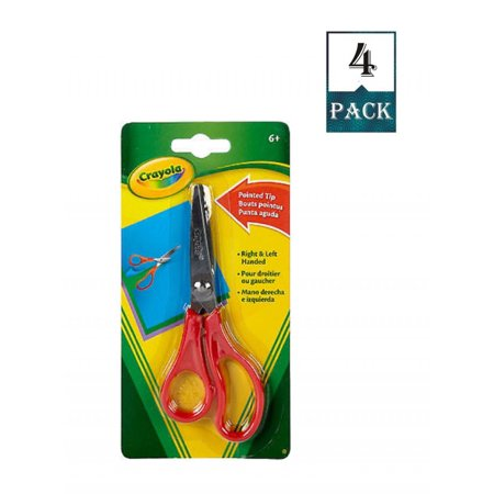 Crayola Pointed Tip Scissors (Crayola Pointed Tip Scissors Metal Blade (Pack Of)
