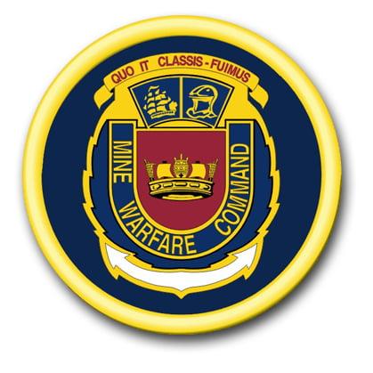 3 8 Inch Navy Mine Warfare Command Vinyl Transfer Decal