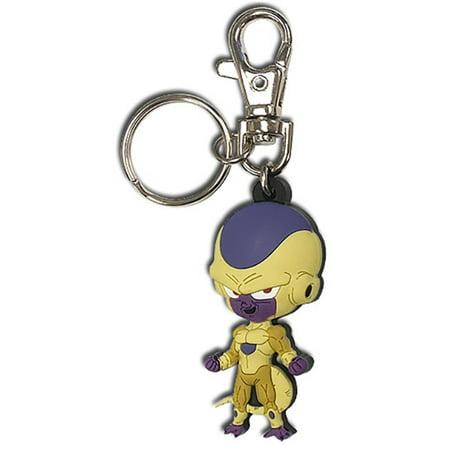 Great Eastern Entertainment Dragon Ball Super Resurrection F Golden Frieza PVC Keychain