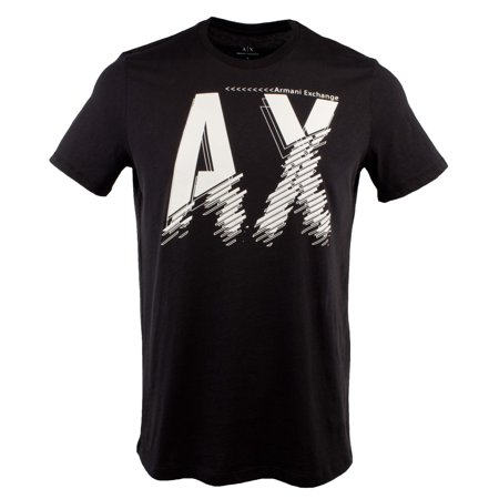 Armani Exchange Men's Slim Short Sleeve Crewneck (Armani Exchange Mens Wear)