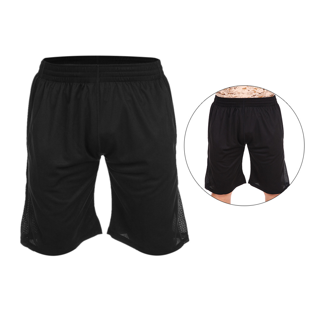 Mens Basketball Shorts Running Training Summer Loose Sport Cycling Shorts black