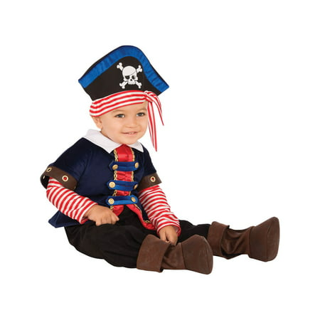 Baby Pirate Boy Costume - Baby Boo Costume