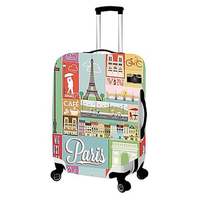 LOQI Artist Hey Studio Paris Luggage Cover Size Multicolour Large Packing Organiser 30 cm