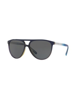 8becf71e1272 Product Image Sunglasses Burberry BE 4254 366287 TOP BLUE GRAD ON OLIVE  GREEN