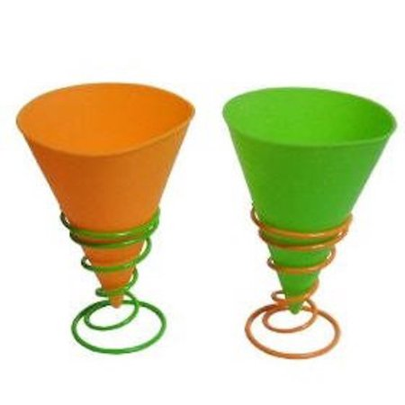 - Back to Basics Snow Cone Cups AND Holders - 2 Pack