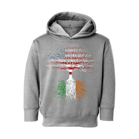 Awkward Styles St Patricks Day Toddler Hoodie Irish American Roots Hooded Sweatshirt Girls Boys Proud Irish Irish Boy Sweatshirt