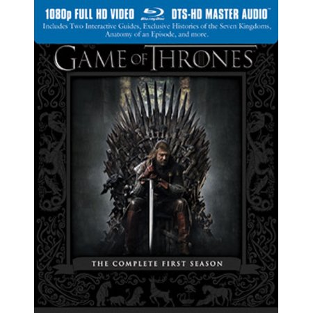 Game of Thrones: The Complete First Season [5 Discs] [Blu-ray]