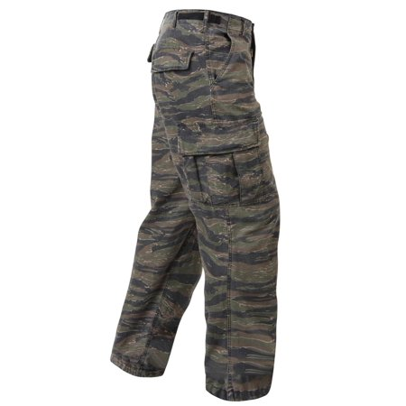 (Vietnam Era Tiger Stripe Camo US Army Pants, Fatigues)