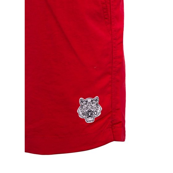 07f09570b882d Kenzo - Kenzo Mens Red Tiger Bathing Suit Swim Shorts Size US Small ...