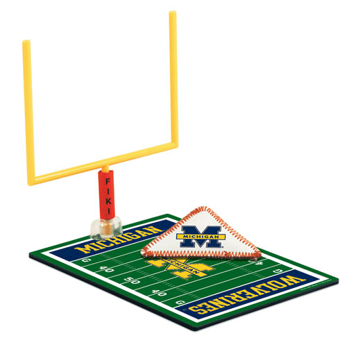 University of Michigan FIKI Tabletop Football Game by Wincraft