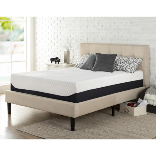 Priage  13-Inch Queen-size Green Tea Memory Foam Mattress