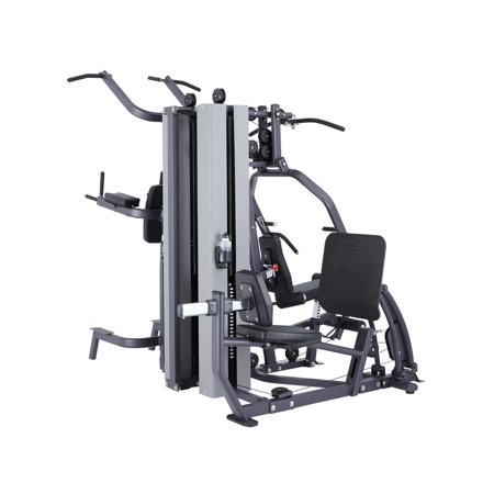 MG200B Multi Station Gym Pulley Weight Machine - 420 lb. Stack (Commercial Grade Quality) by SteelFlex