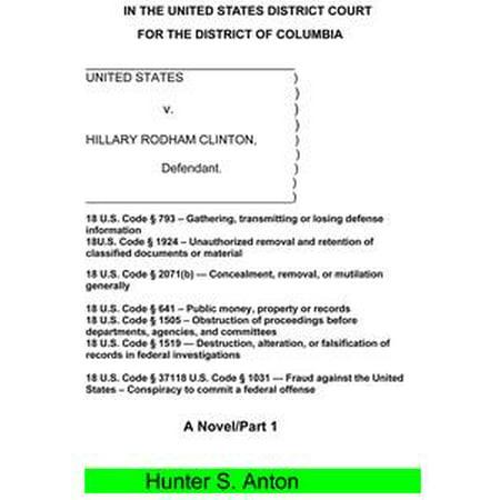 United States v. Hillary Rodham Clinton - eBook - Hillary Clinton Halloween Mask