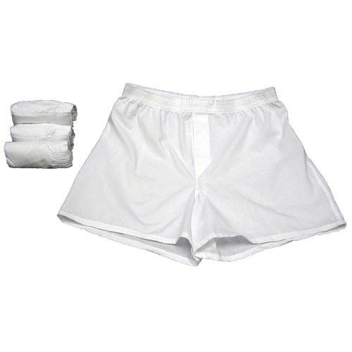 Gildan Men's 4-Pack Boxer Shorts, White
